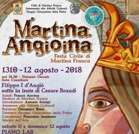 77a42025aa Martina angioina 2018, Filippo I d'Angiò sotto la lente di Cesare Brandi -  Città di Martina Franca