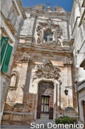 Facciata della chiesa di San Domenico