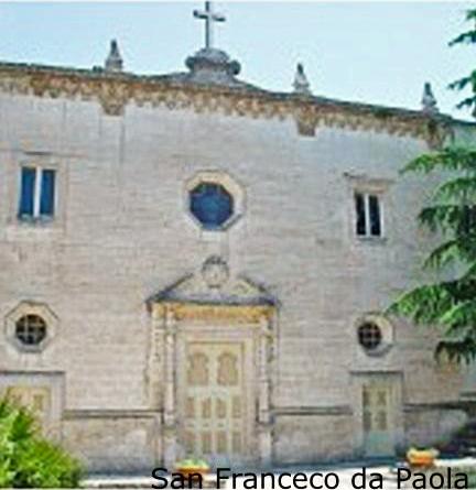 Facciata chiesa San francesco da Paola