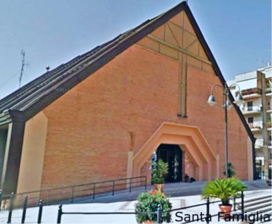 Facciata chiesa Santa Famiglia