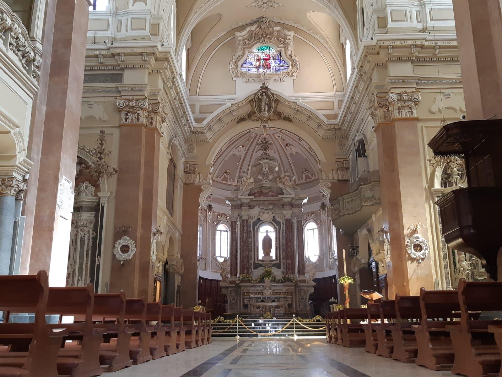 Interno basilica S.Martino