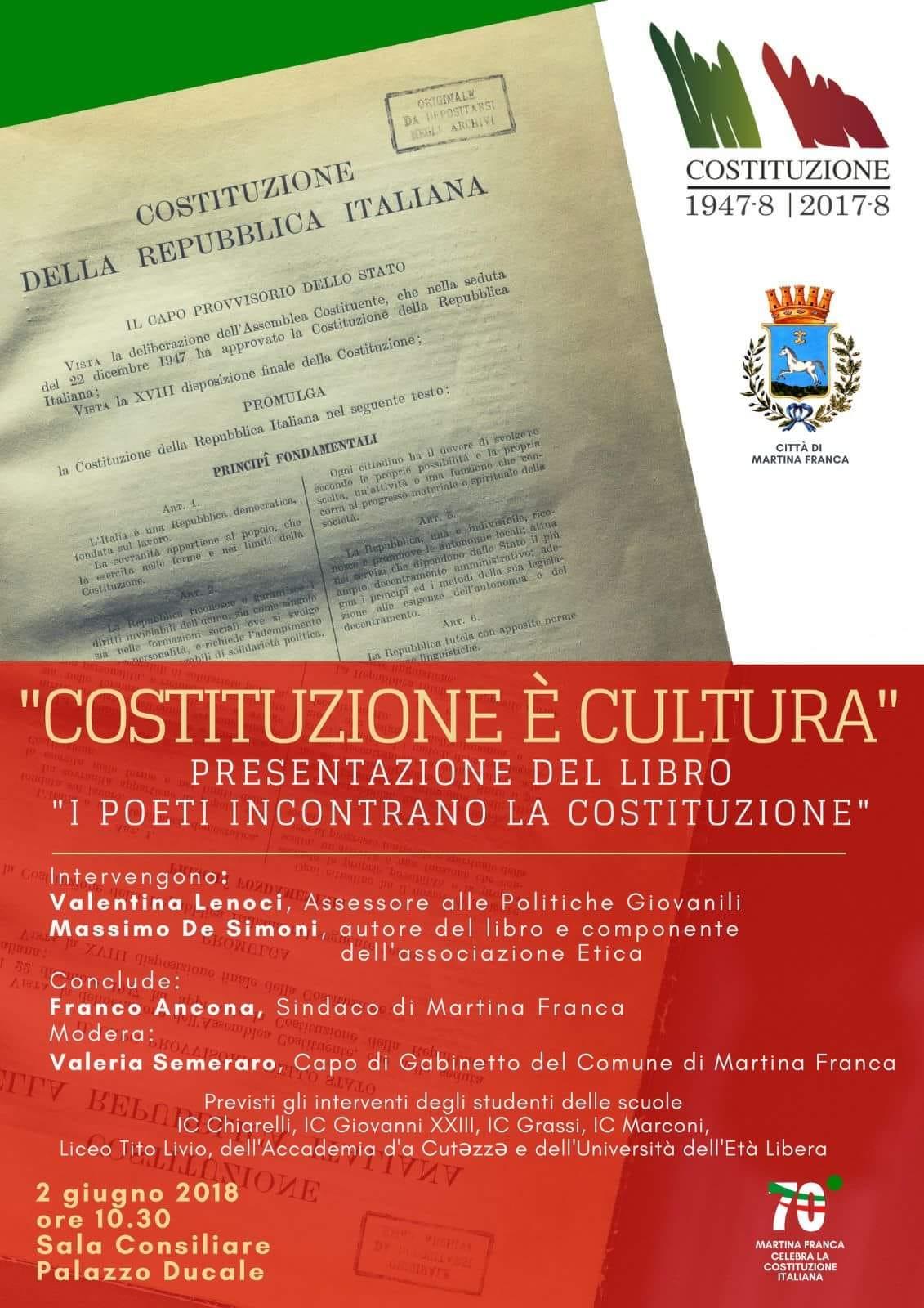 costituzione è cultura