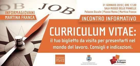 Curriculum giovani