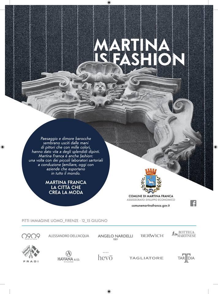 Locandina iniziativa martina is Fashion