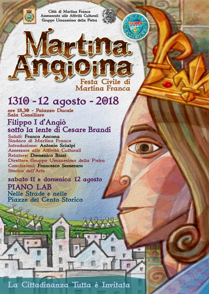 Locandina Martina Angioina