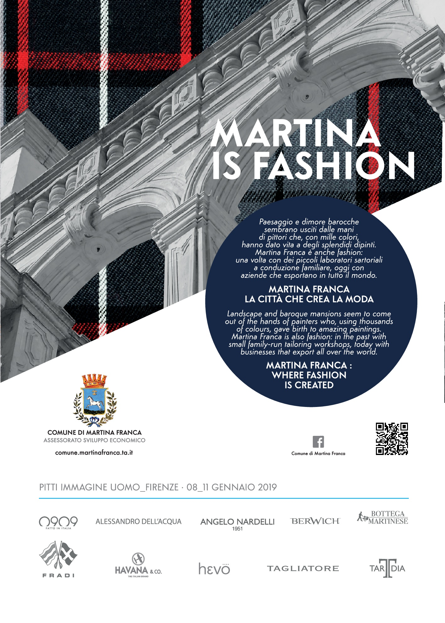 Martina is Fashion Pitti 2019