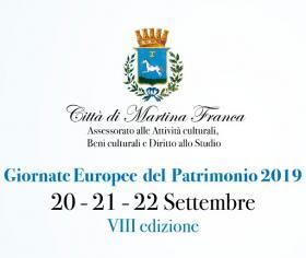 Logo giornate europee del patrimonio