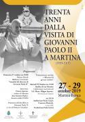 30 anni Papa Martina