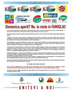 manifesto supermercati