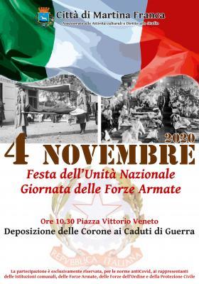 manifesto 4 novembre 2020