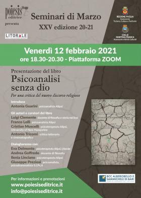 Seminari di Marzo 12 febbraio 2021
