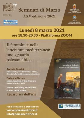 seminari di marzo 8 marzo 2021