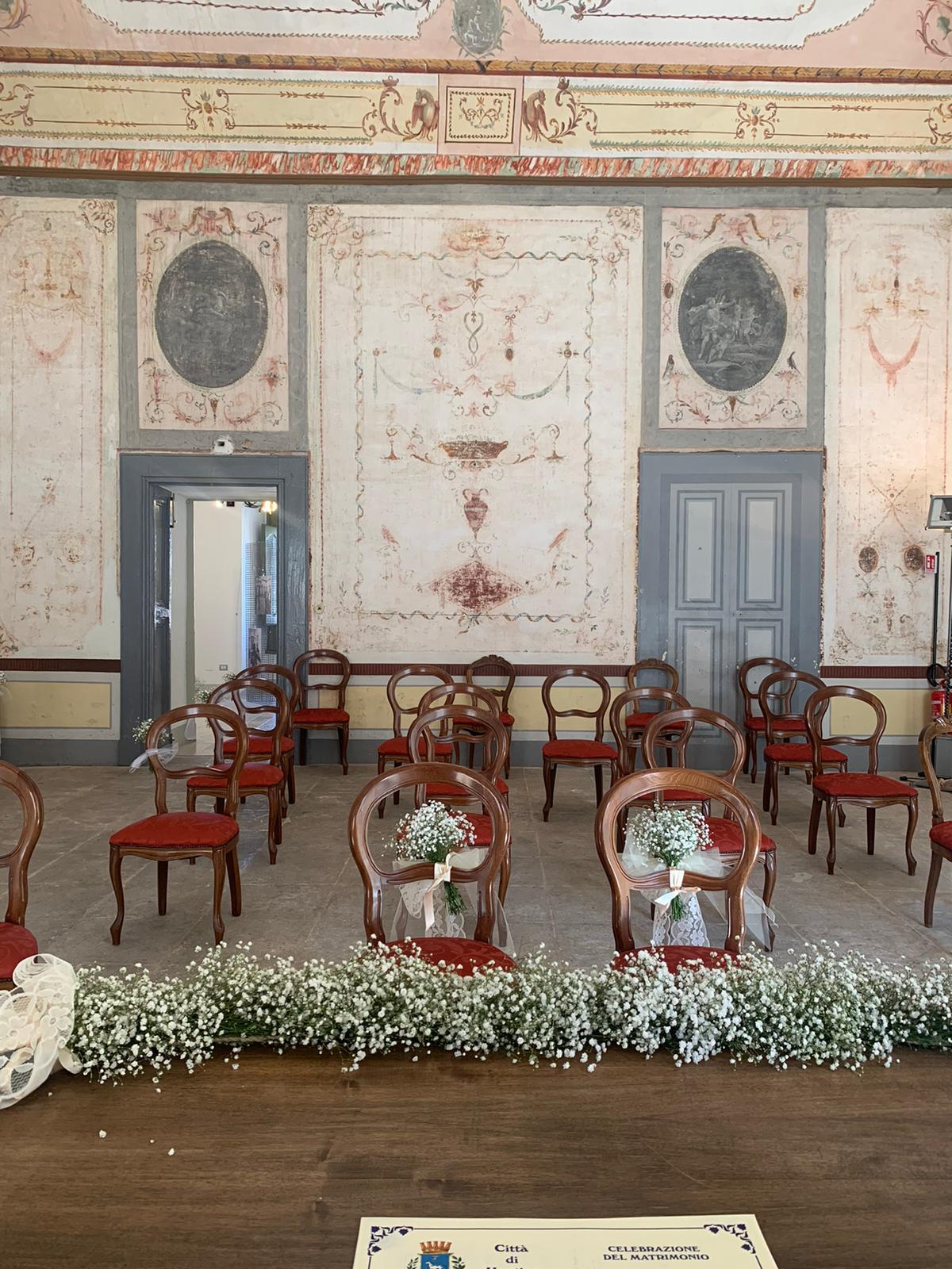 sala degli uccelli matrimonio