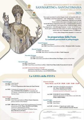 San Martino 2021 Locandina